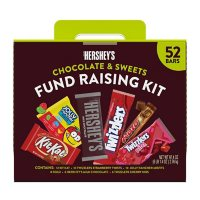 Hershey Chocolate and Sweets Assortment Candy, Bulk Fundraising Kit (97.4 oz., 52 ct.)