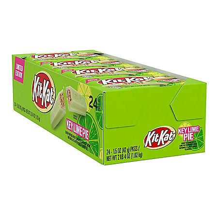 Kit Kat Key Lime Pie Flavored Crisp Wafer Candy Bars (1.5 oz., 24 ct.)