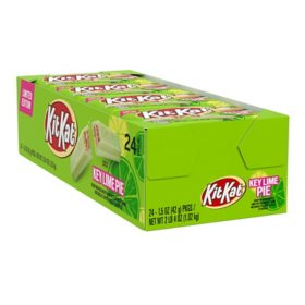 Kit Kat Key Lime Pie Flavored Crisp Wafer Candy Bars (1.5 oz., 24 ct.)