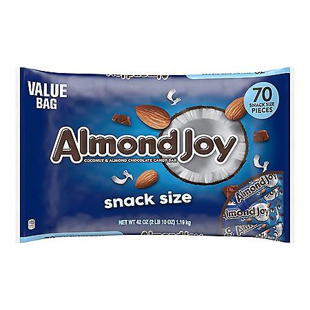 Almond Joy Snack Size Bars (42oz.)