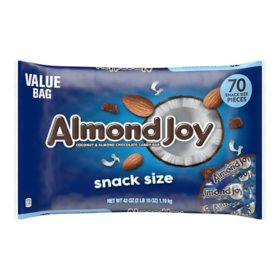 Almond Joy Snack Size Bars (42oz.)
