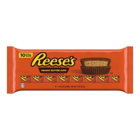 Reese's Milk Chocolate Peanut Butter Cups Candy (1.5 oz., 10 pk.)