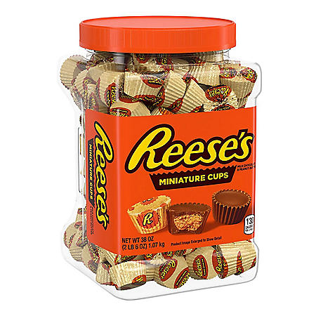 Reese's Miniatures Peanut Butter Cups (38 oz.)