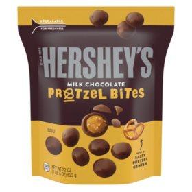Hershey's Milk Chocolate Pretzel Bites (22oz)