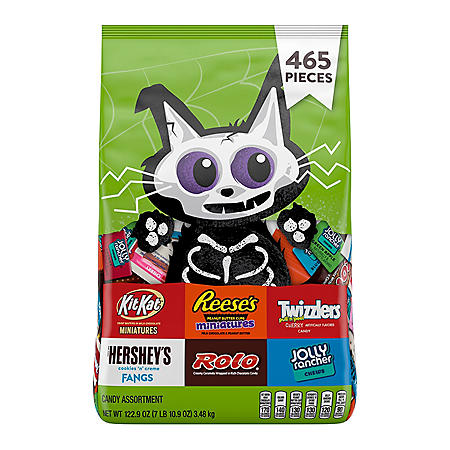 Hershey's Halloween Chocolate and Sweets Candy Assortment (122.9oz)