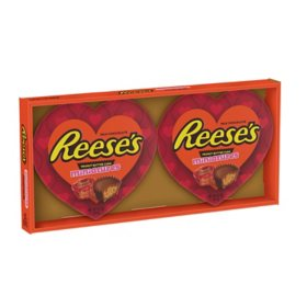 Reese's Miniatures Milk Chocolate Peanut Butter Cups Valentine's Day Candy Gift Box (13 oz., 2 pk.)