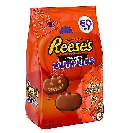Reese's Halloween Peanut Butter Pumpkins (38oz.)
