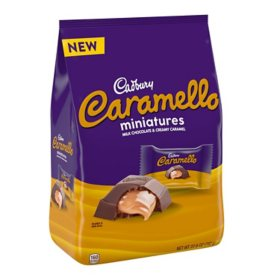 Cadbury Carmello Miniatures Milk Chocolate and Caramel Candy Bars (27.6 oz.)