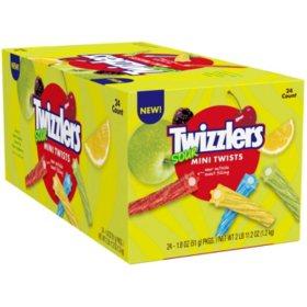 Twizzlers Sour Mini Twists (1.8 oz., 24 ct.)