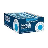 BREATH SAVERS Peppermint Sugar-Free Breath Mints Rolls (0.75 oz., 24 ct.)