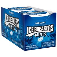 ICE BREAKERS COOLMINT Sugar-Free Mint Candy, Tin (1.5 oz.)