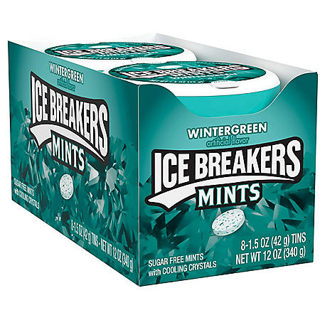 Ice Breakers Mints Wintergreen (1.5 oz., 8 pks.)