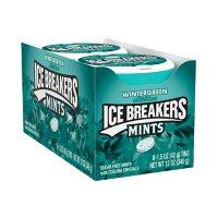 ICE BREAKERS Wintergreen Sugar-Free Mint Candy Tin (1.5 oz.)