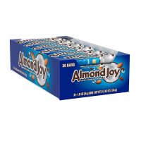 ALMOND JOY Coconut and Almond Chocolate Candy, Bulk Halloween Bars (1.61 oz., 36 ct.)