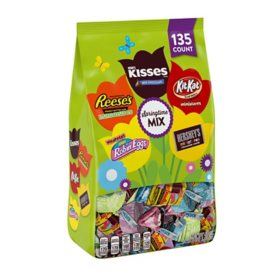 Hershey Chocolate Assortment Candy, Easter Bag (40 oz., 135 ct.)