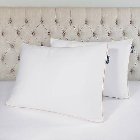 Serta Perfect Sleeper Firm/Extra Firm Jumbo Bed Pillow, 2 Pack