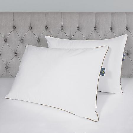 Serta Perfect Sleeper Soft & Natural Jumbo Bed Pillow, 2 Pack