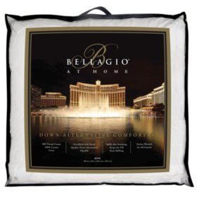 Bellagio 400-Thread-Count Down Alternative Comforter (Various Sizes)
