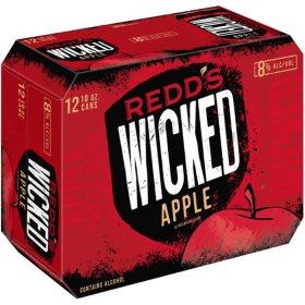 Redd's Wicked Apple Hard Ale (10 fl. oz. can, 12 pk.)