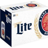 Miller Lite Lager Beer (12 oz. can, 30 pk.)