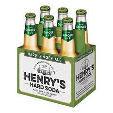 Henry Weinhard Hard Ginger Ale (12 fl. oz. bottle, 6 pk.)