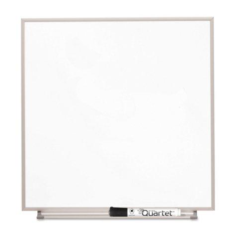 Quartet - Matrix Magnetic Boards, Painted Steel, 16 x 16, White -  Aluminum Frame