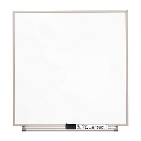 Quartet - Matrix Magnetic Boards, Painted Steel, 48 x 31, White -  Aluminum Frame