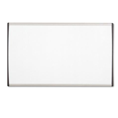 "Quartet - Magnetic Dry Erase Board Painted Steel - White/Aluminum - 18"" x 30"""