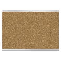 Quartet - Prestige 2 Magnetic Cork Bulletin Board, 72 x 48 -  Aluminum Frame