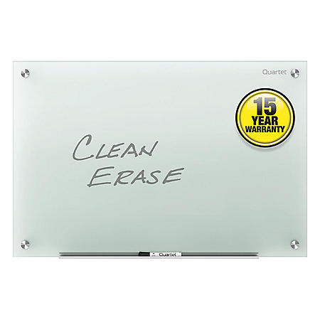 Quartet - Infinity Glass Marker Board, Frosted -  96 x 48