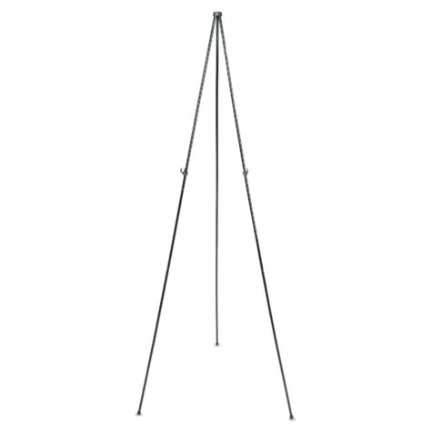 "Quartet - Full Size Instant Easel, 62-3/8"" Maximum Height, Steel -  Black"