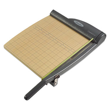Swingline - ClassicCut Pro Paper Trimmer, 15 Sheets, Metal/Wood Composite Base -  12