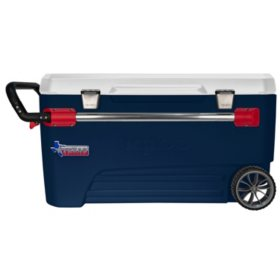 110 Qt. Glide Rolling Cooler - Texas Edition