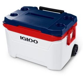 Igloo 60-Quart Sunset Roller Cooler - Texas Edition