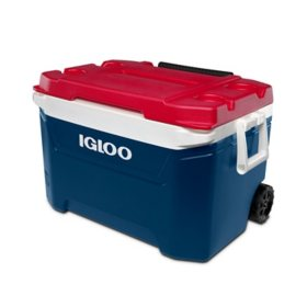 Igloo 60-Quart Sunset Roller Cooler - Texas Edition