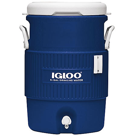 Igloo Seat Top Water Jug with Cup Dispenser - 5 gal.