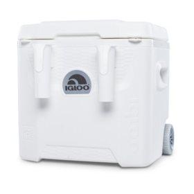 Marine Quantum 52-Quart Roller Cooler