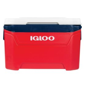 Igloo 60-Quart Rolling Ice Chest Cooler - Texas Edition