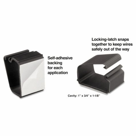 Master Caster® Cord Away®  Wire Clips - 6/pk.