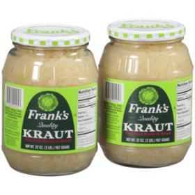 Frank's Kraut Sauerkraut (32 oz., 2 pk.)