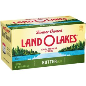 Land O Lakes Salted Butter Quarters (4 sticks)