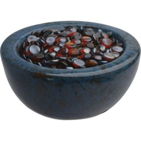 Umbrella Hole Ceramic Firebowl