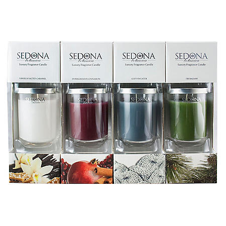Sedona Botanica Luxury Fragrance Candle (4 pk.)