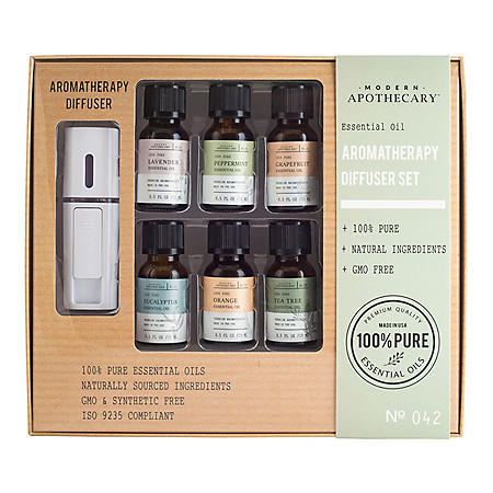 Essential Oil Aromatherapy Diffuser Set (6 pk.)