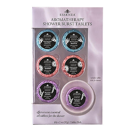 Essenza Aromatherapy Shower Burst Tablets (6 pk.)