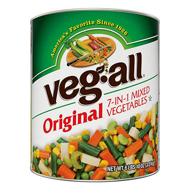 Veg All Mixed Vegetables 106 Oz Can Sam S Club