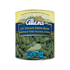 The Allens Cut Italian Kentucky Wonder Style Green Beans - 104 oz.