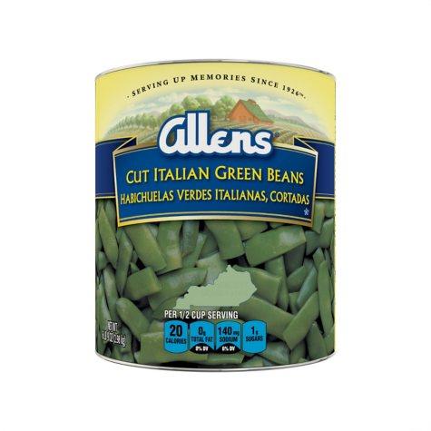The Allens Cut Italian Kentucky Wonder Style Green Beans - 104 oz.