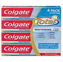 Colgate Total Whitening Toothpaste (7.8 oz, 4 pk.)