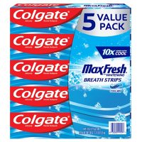 5-PK Colgate MaxFresh Toothpaste Cool Mint 7.6 oz. Deals